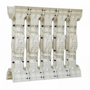 Balcony Concrete Baluster Molds With Railing 1