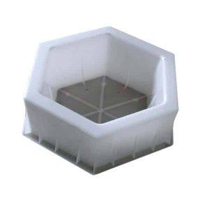 Concrete Hexagon Hollow Blcok Molds