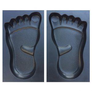 Garden Pathway Footprint Stepping Molds 3
