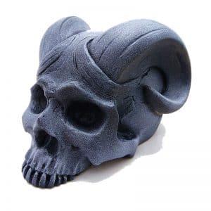 Silicone Concrete Horn Skull Mold DIY